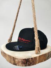 Foto Šiltovka 6P BLACK s vyšitým logom P.D.Performance /unisex, nastaviteľná /